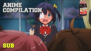 Chuunibyou - Rikka Being Jelly Moments (Japanese Sub)