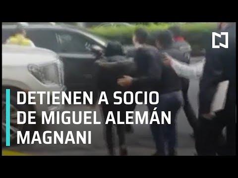 Detienen a Alejandro del Valle, socio de Miguel Alemán Magnani - Por las Mañanas
