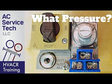What Pressure Does Natural Gas And Propane Lp Supply The Appliances With?