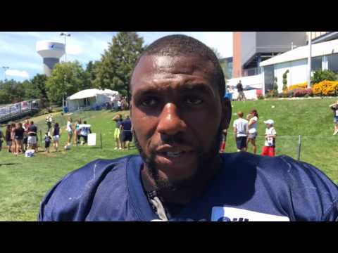 Ramon Humber discusses practicing against his former team