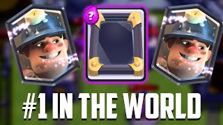 Clash Royale - I'M #1! Mirror & Miner = BROKEN