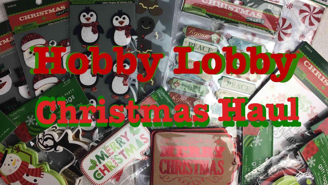 hobby lobby christmas and halloween clearance haul - Hobby Lobby Christmas Clearance