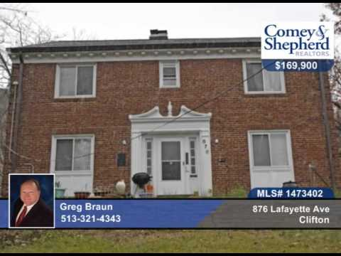 876 Lafayette Ave  Clifton, OH Homes for Sale | www.comey.com