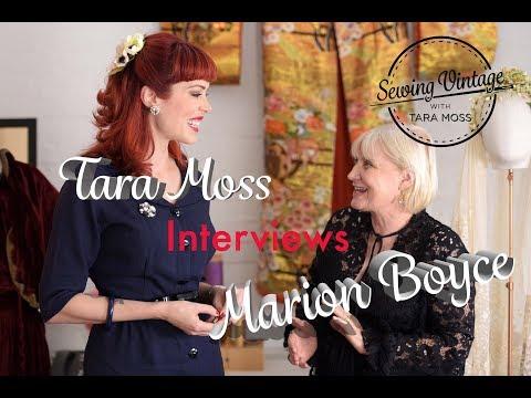Tara Moss interviews Costume Designer Marion Boyce