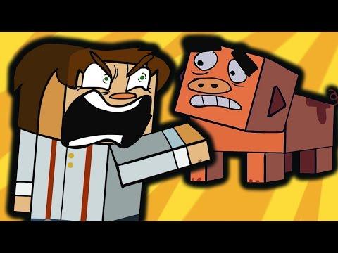 Minecraft Story Mode (Funny Animation)