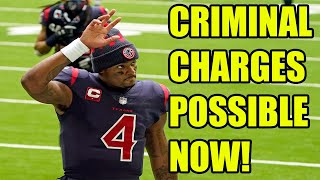 Deshaun Watson in SERIOUS TROUBLE as Grand Jury convenes to bring CRIMINAL CHARGES!