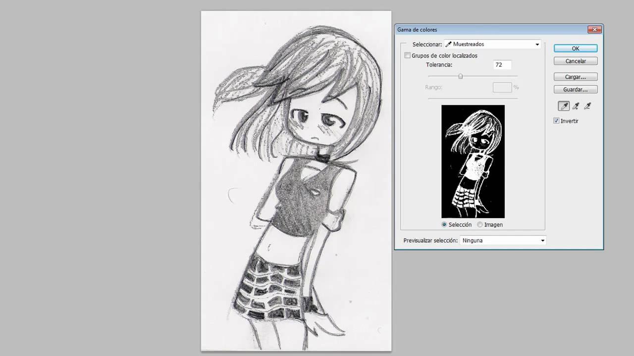 Cómo Vectorizar Un Dibujo Hecho A Lápiz En Photoshop