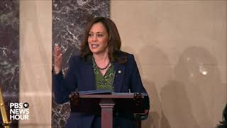 'No American is entitled to a seat on the Supreme Court,' Sen. Harris says