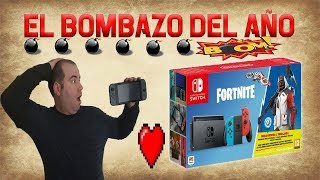 PACK NINTENDO SWITCH + FORTNITE... SACADA DE CHORRA No.569 FROM NINTENDO!