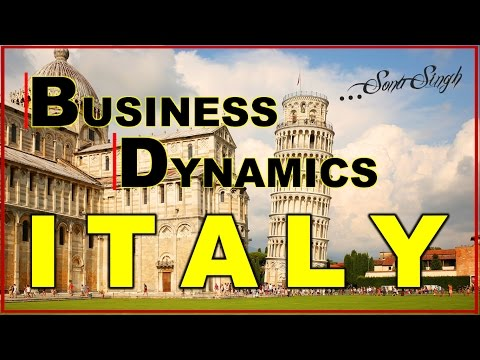 BUSINESS DYNAMICS IN ITALY | CASE STUDY | SWOT ANALYSIS | FACTOR AFFECTING BUSINESSES IN ITALY | Ppt