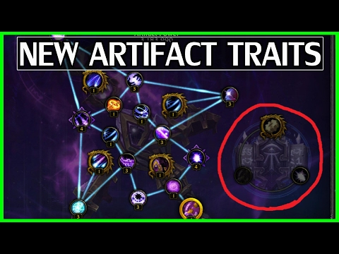 New 7.2 Artifact Traits Now Live! How To Unlock Them[PTR] - WoW Legion