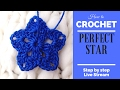 Crochet tutorial ornaments STAR (For absolute beginners) - Live Stream