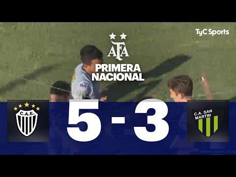 Estudiantes (BA) VS. San Martín (SJ) | Fecha 17 | Primera Nacional 2019/2020