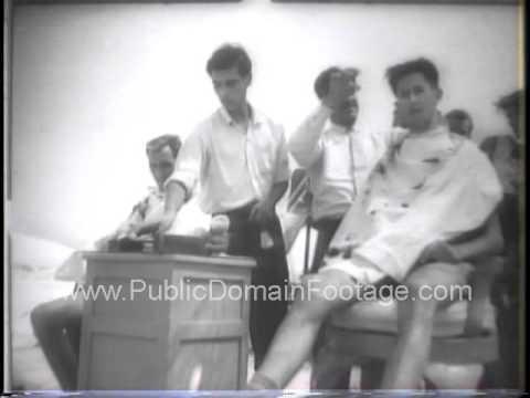1958 Middle East Crisis Propaganda War archival footage PublicDomainFootage.com