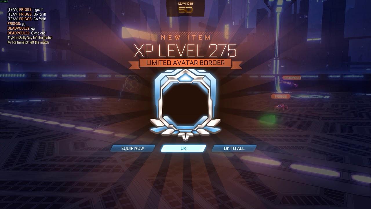 Rocket League Mvp Good Pose Platinum 3 In Ds Level 275 Avatar