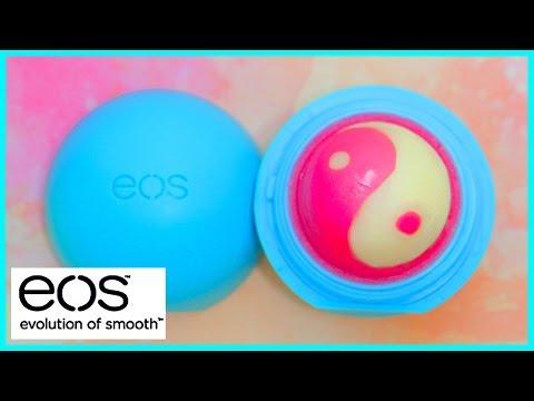 DIY EOS lip balm: Yin-Yang design!!