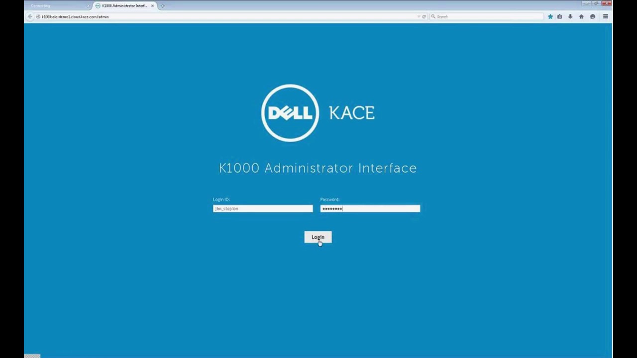 KACE K1000 Appliance Product Demonstration - YouTube 8d02c9130