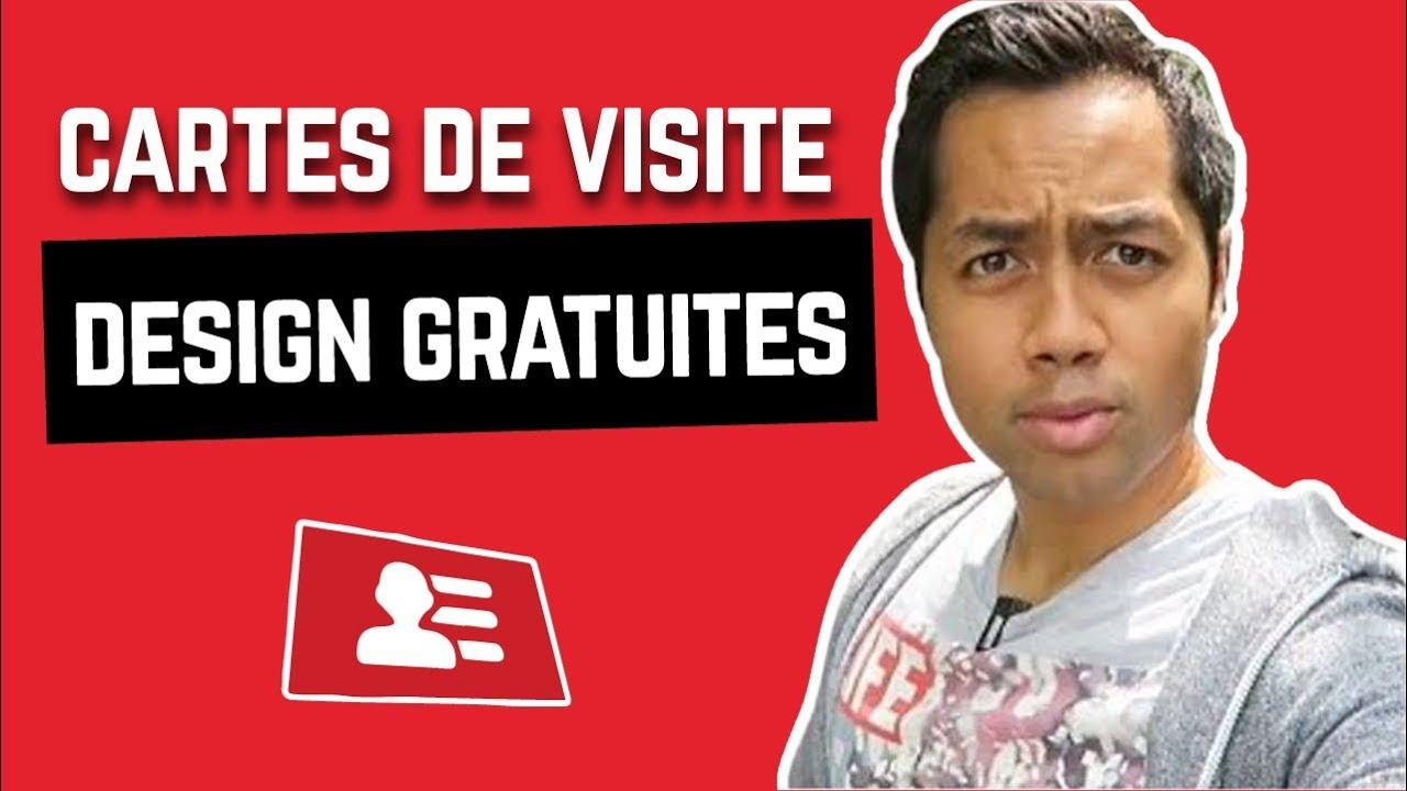 FAIRE DES CARTES DE VISITE GRATUITEMENT