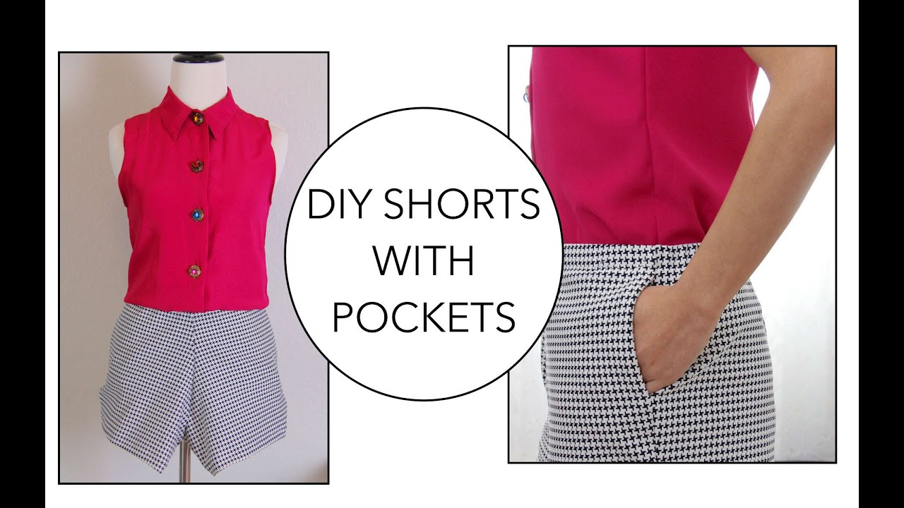 How to sew shorts 24