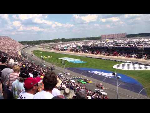 Nascar Pure Michigan 400 @ Michigan International Speedway 8/18/2013