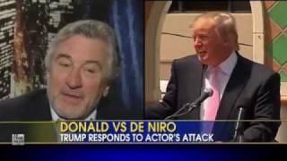 Trump Slams Robert De Niro; Praises Rev. Graham