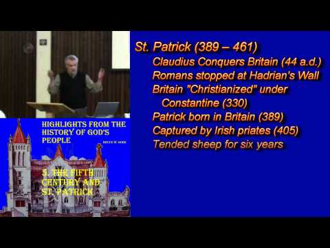 5. The Fifth Century and St. Patrick