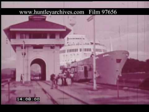 Panama Canal, 1960s - Film 97656