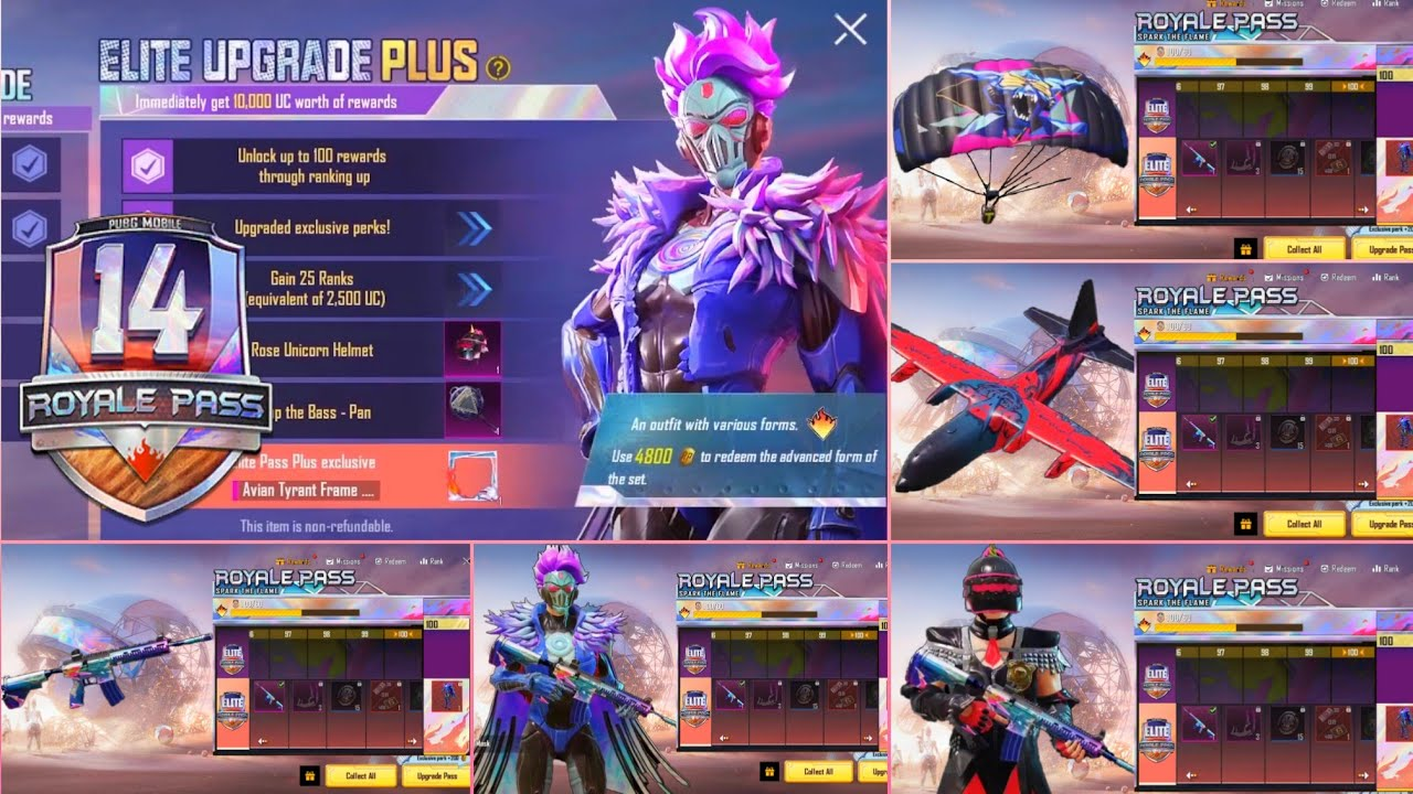 SEASON 14 ROYALE PASS IS HERE (Final Version)