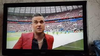 Robbie Williams Приветствует Факом Фанатов! Fifa 2018