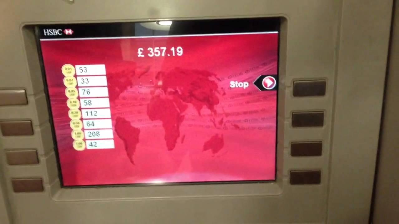 HSBC coin counter