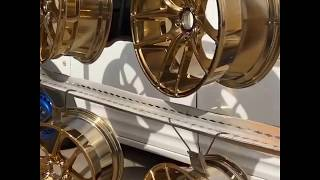 Video Powder coated wheels in candy gold download MP3, 3GP, MP4, WEBM, AVI, FLV Mei 2018