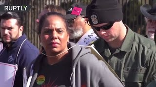 Police arrest multiple protesters in demo against repeal of Affordable Care Act