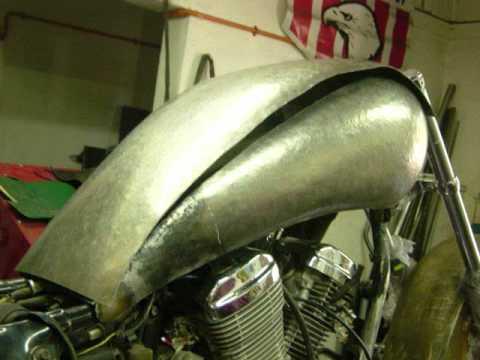 Honda Steed transformada a modelo Indian / JJR Motos Chile