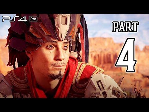 Horizon Zero Dawn Walkthrough PART 4 (PS4 Pro) No Commentary Gameplay @ 1080p HD ✔
