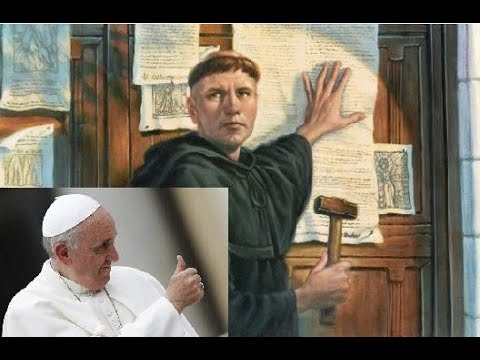 LUTHER'S POPE: Vatican Stamp of Approval of Protestant Revolt?