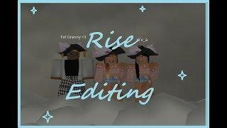 Rise // FMV - Editing // ROBLOX