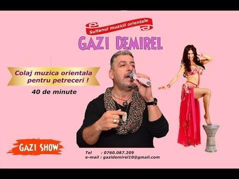 Gazi Demirel Colaj Muzica Orientala pentru petrecere 40 de minute CHEF de CHEF
