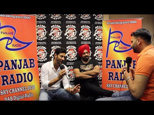 Harbhajan Mann & Gurpreet Ghuggi LIVE at Panjab Radio for Saadey CM Saab Movie Promotions