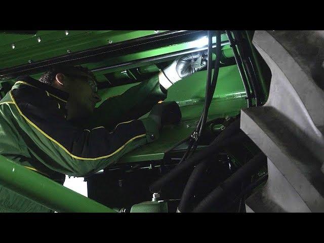 John Deere   Expert Tip Combine - Raspbar Height Inspection