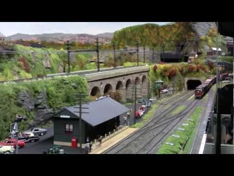 NY Society of Model Railroad Engineers O Scale layout 2012