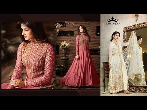 Modern New Arrivals Fashionable Women Anarkali suits dress//Latest Collection