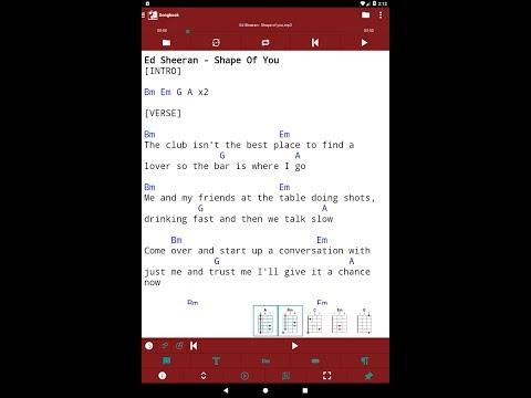 smartChord Songbook