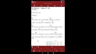 smartChord Songbook screenshot 4