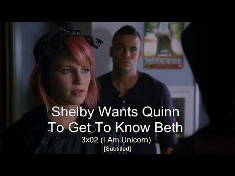 GLEE- Shelby & Quinn (