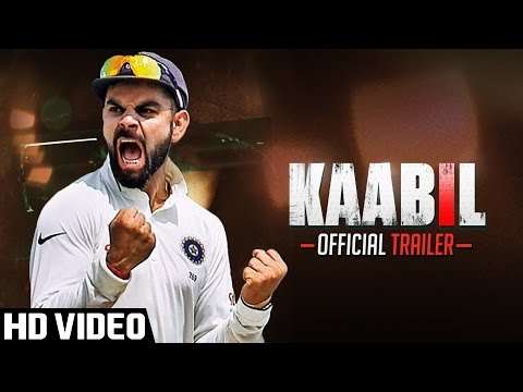 Kaabil Official Trailer | Virat Kohli | Anuskha Sharma | 26th Jan 2017