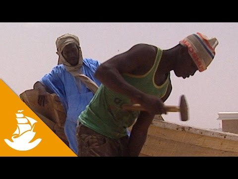 Bulding a boat in Mauritania