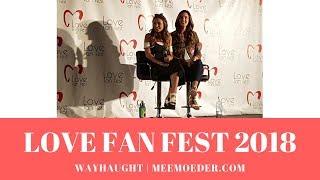 WayHaught Panel Love Fan Fest 2018 Saturday (Wynonna Earp, Kat Barrell, Dominique Provost-Chalkley)