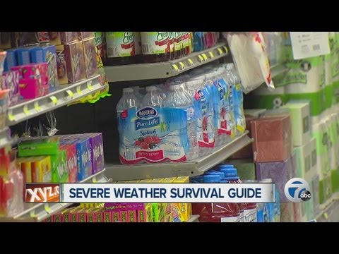 Severe weather survival guide