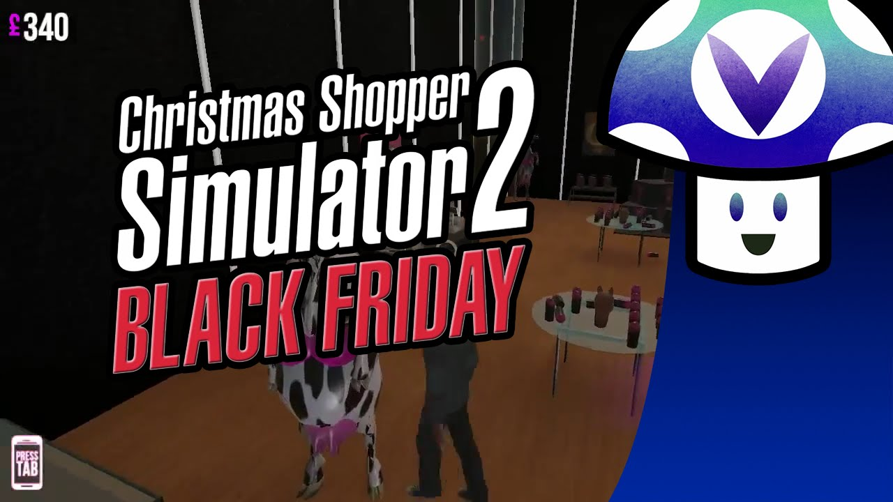 vinesauce vinny christmas shopper simulator 2 black friday