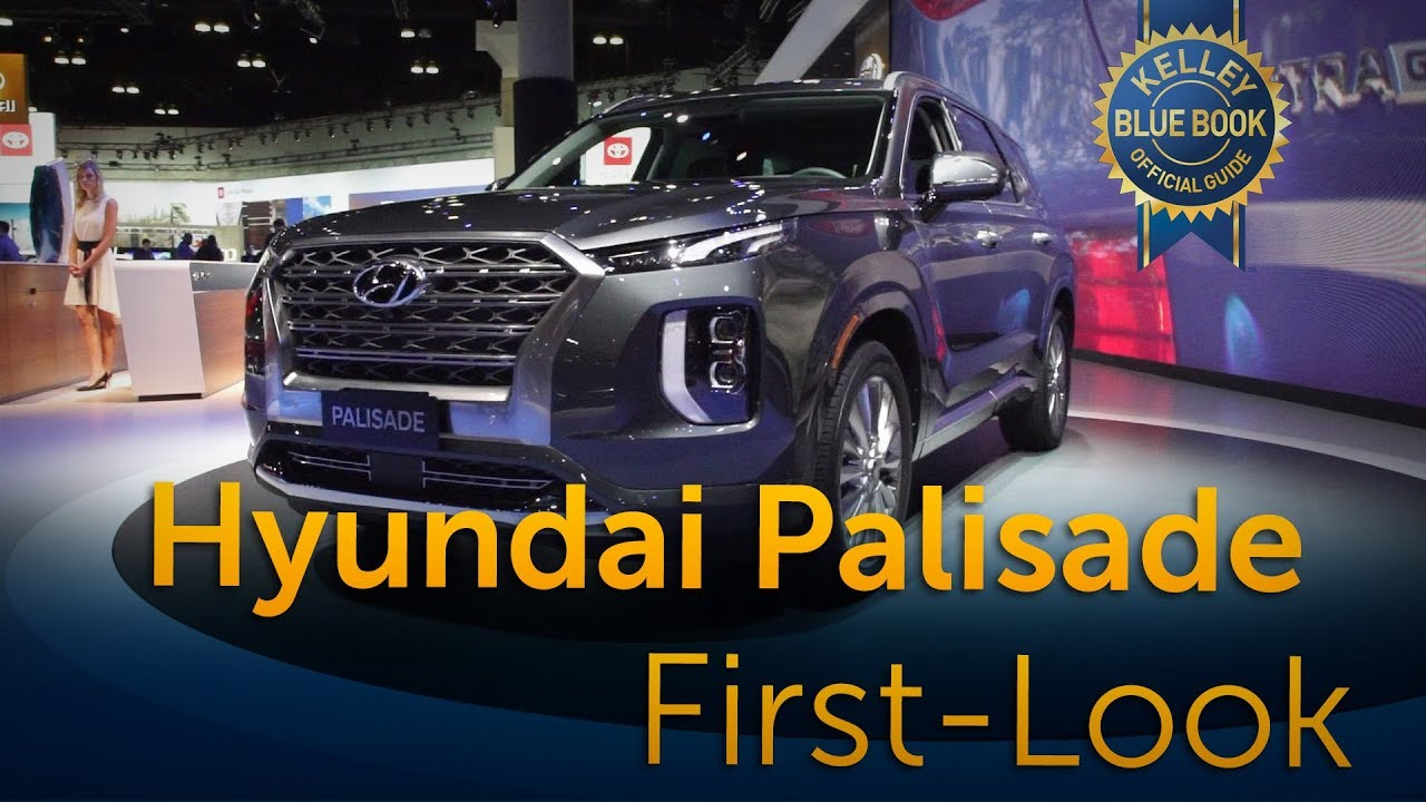 2020 Hyundai Palisade First Look Youtube